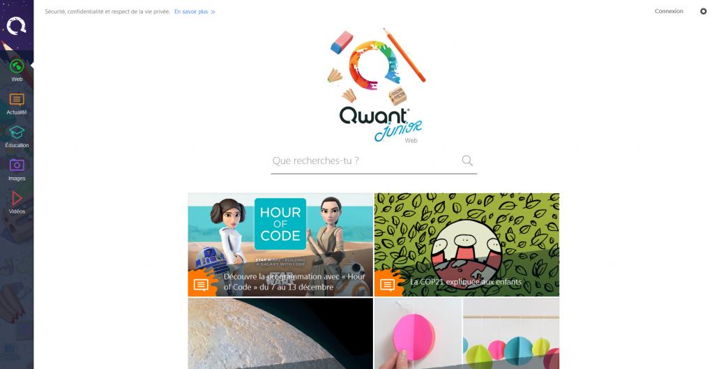 qwant-junior-home